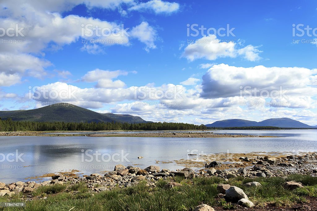 White Sea, Kola peninsula, Russia royalty-free stock photo