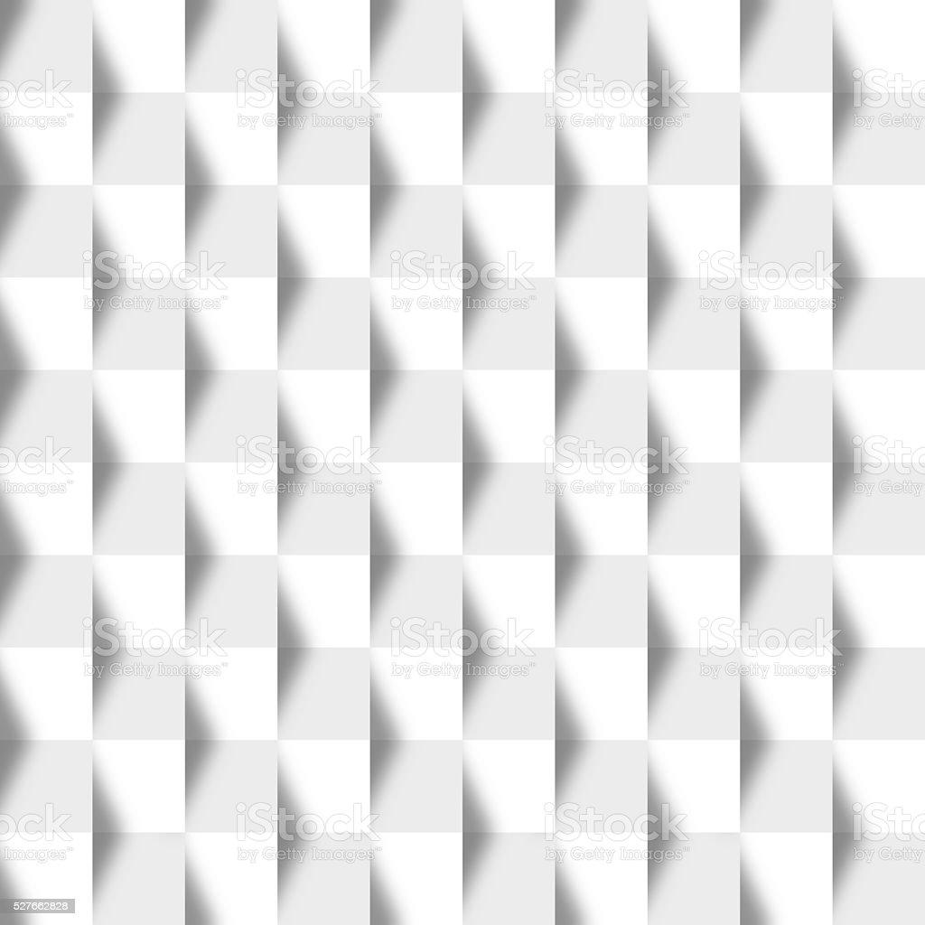 White Seamless Geometric Texture stock photo