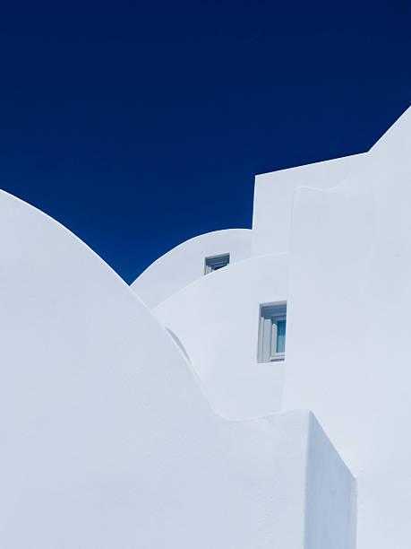 White Shapes stock photo