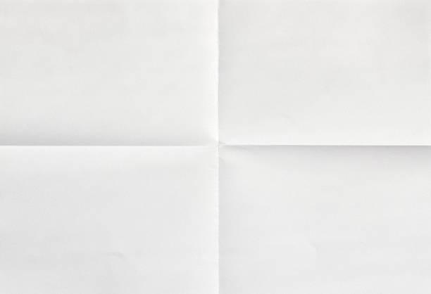 흰색 종이를 4 - 구겨진 뉴스 사진 이미지