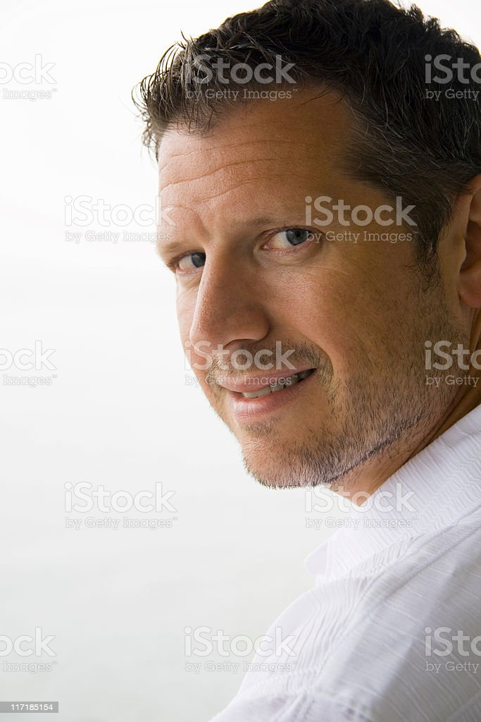 White Shirt royalty-free stock photo