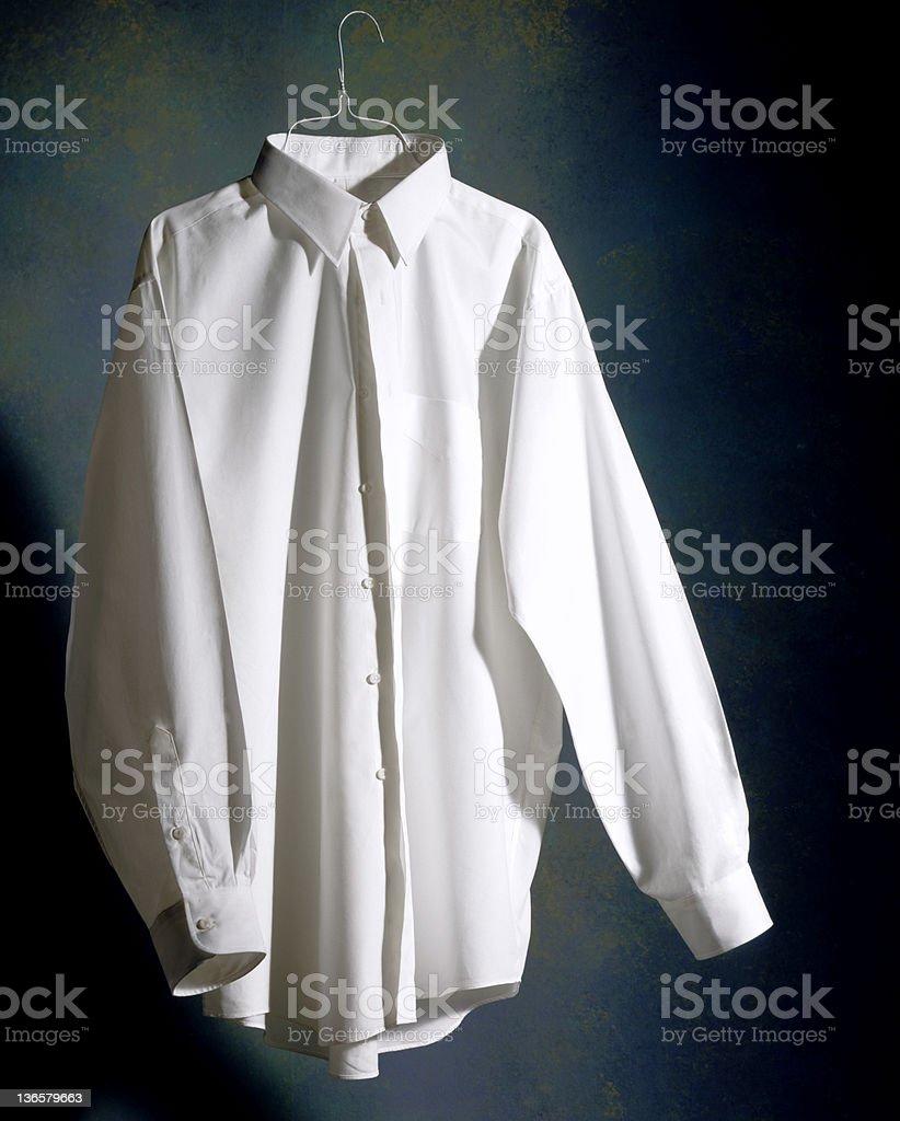 White shirt royalty-free stock photo