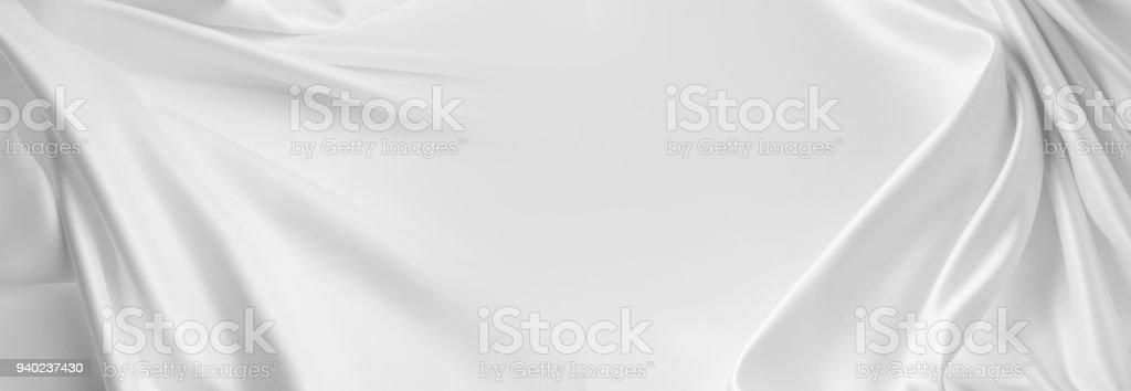 Weiße Seide  – Foto