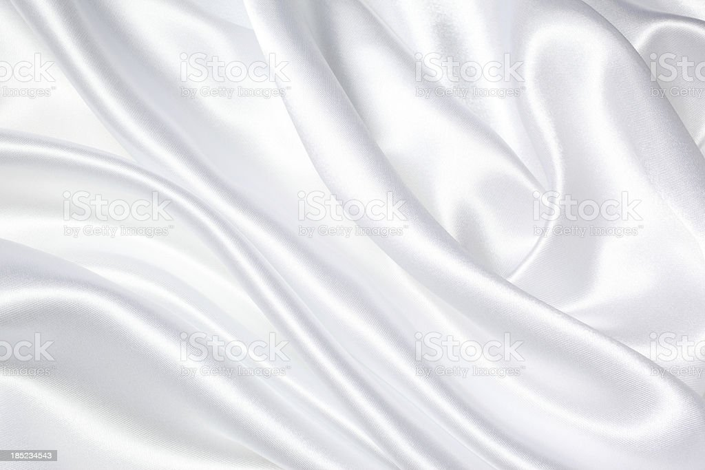 White Silk Texture stock photo