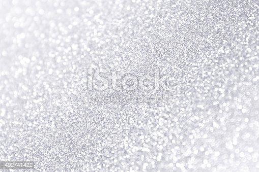 866754590 istock photo White Silver Sparkle Frosty Winter Background 492741422