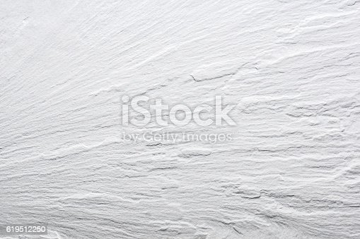 istock White Slate Texture Background - Stone - Grunge Texture 619512250