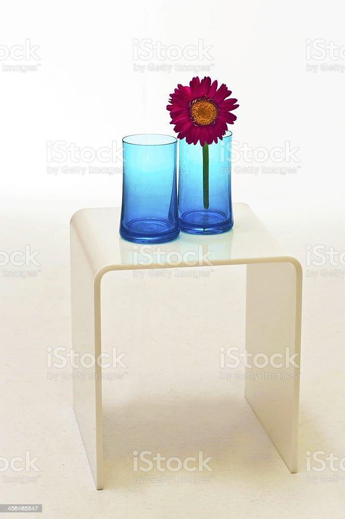 White small table royalty-free stock photo