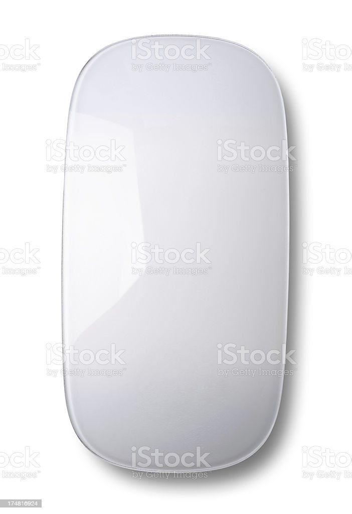 White Smooth Mouse royalty-free stock photo