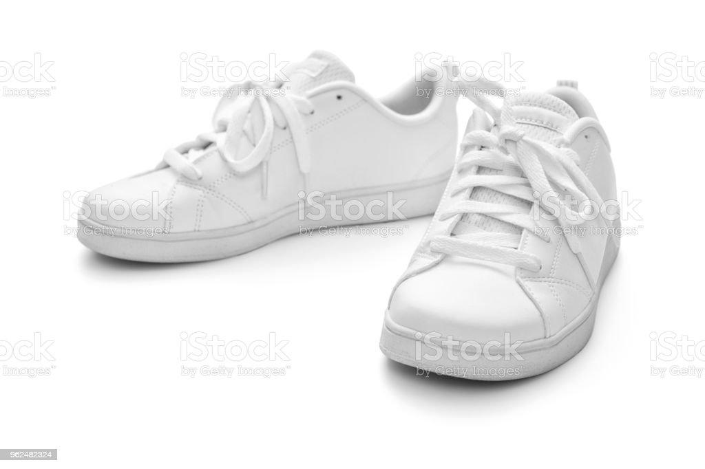 Weiße Sneaker – Foto