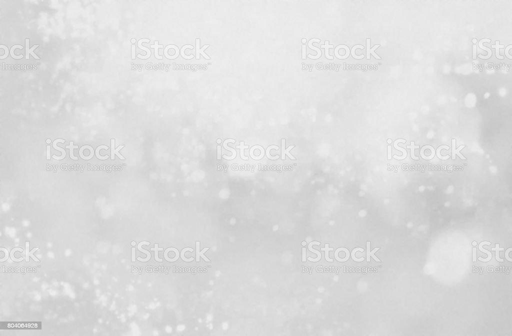 White snow background design stock photo