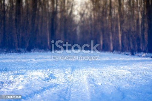 istock white snow in winter forest nature close-up 1226904408