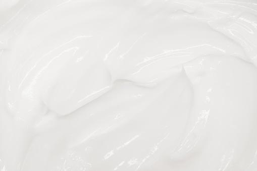 White cream texture, organic background