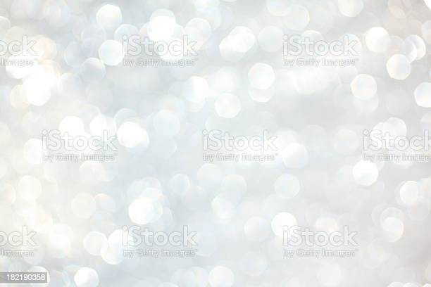 White Sparkles Stock Photo - Download Image Now