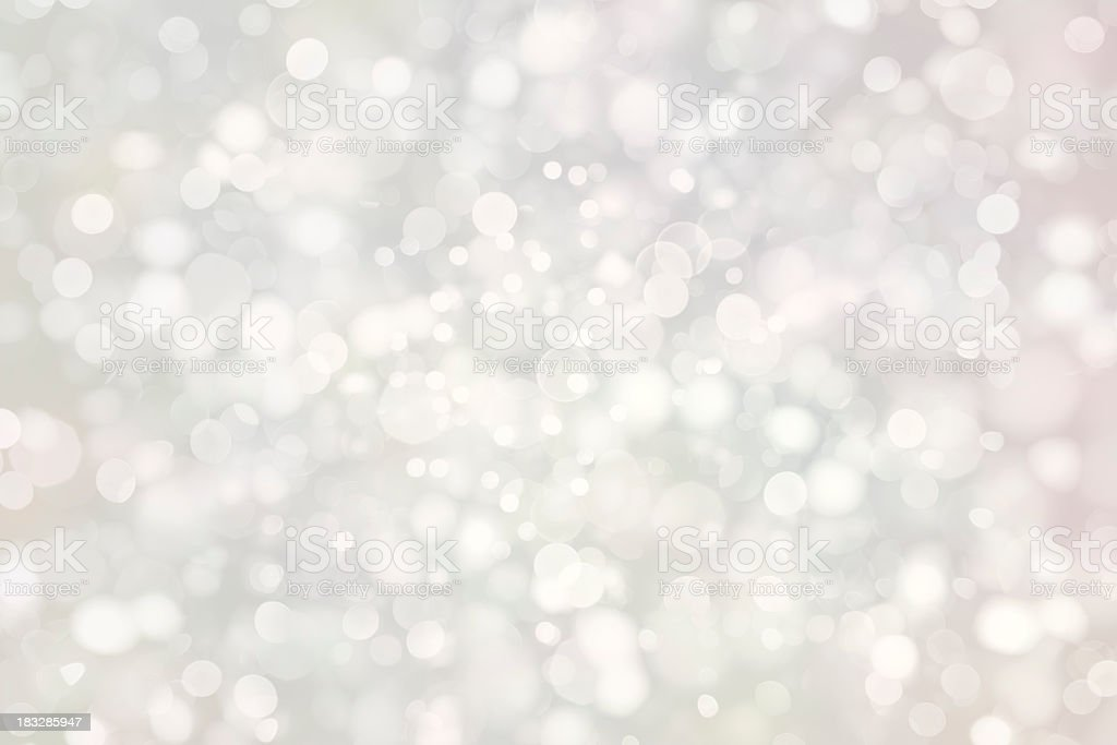 White sparkles stock photo