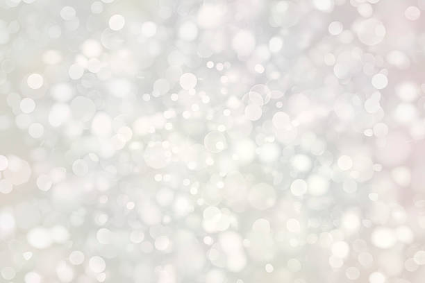 white sparkles - snowflake background stock pictures, royalty-free photos & images