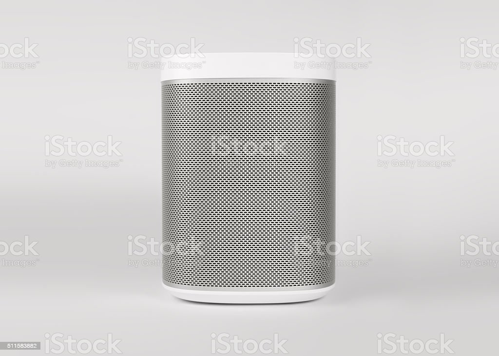 White Speaker stock photo