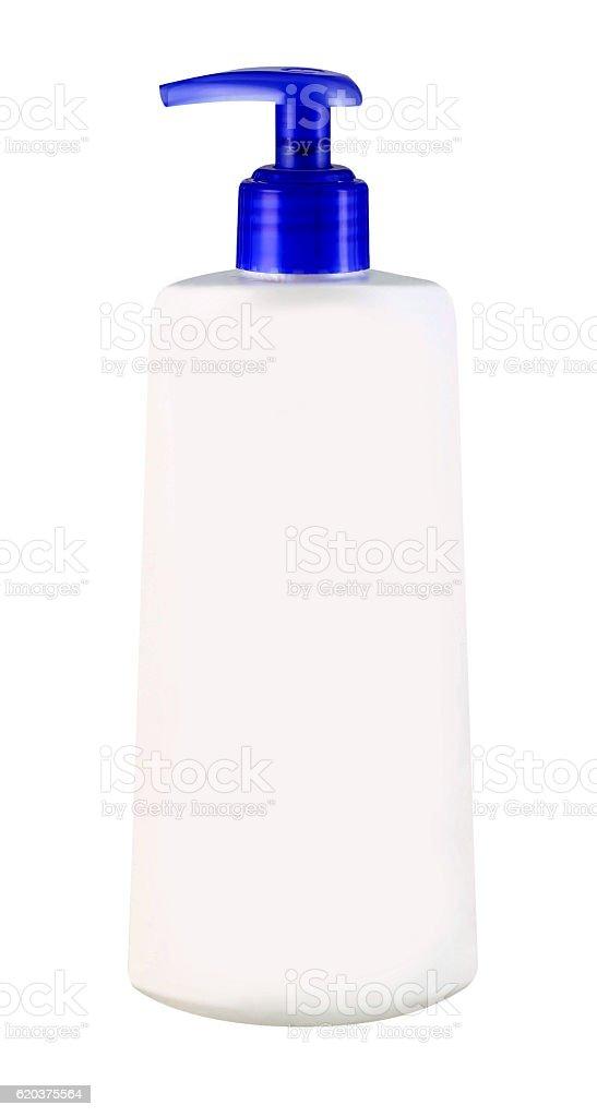 Biały Butelka ze spryskiwaczem  zbiór zdjęć royalty-free