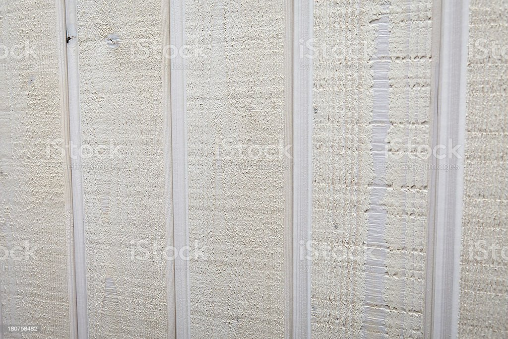 White stained plank of a wooden wall royalty-free stock photo