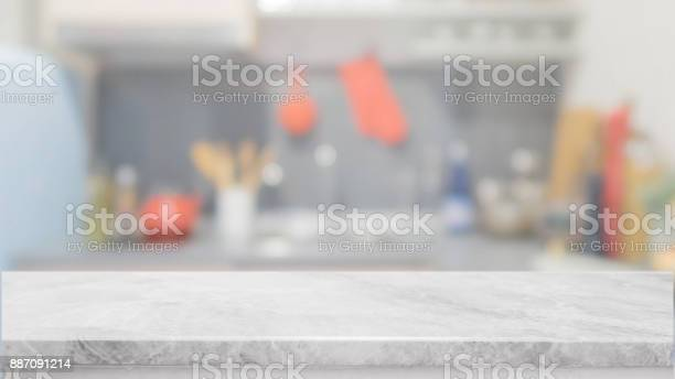 White stone table top and blurred kitchen interior background can picture id887091214?b=1&k=6&m=887091214&s=612x612&h=wjajpymp6m0c3lsdco7jptp7jjhaycq0n3al4azobye=