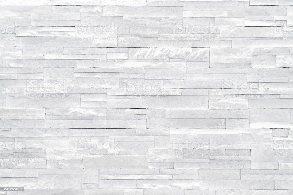 White stone wall background stock photo