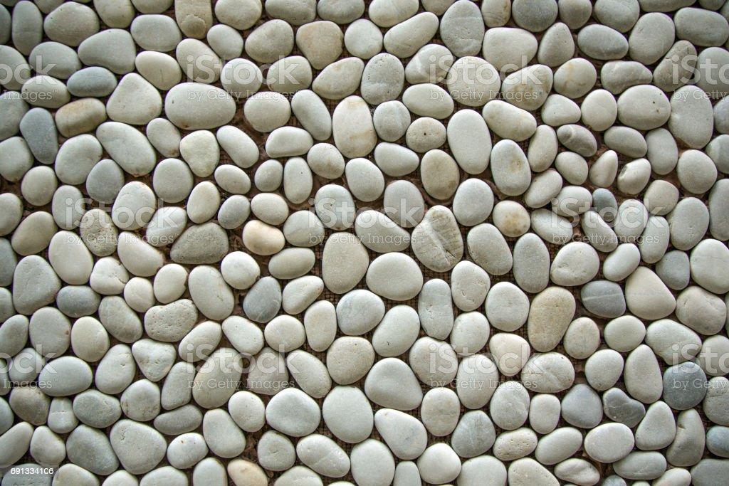 White stones stock photo