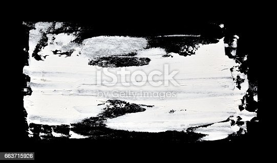 534130204istockphoto White stripe - Grunge brush strokes 663715926