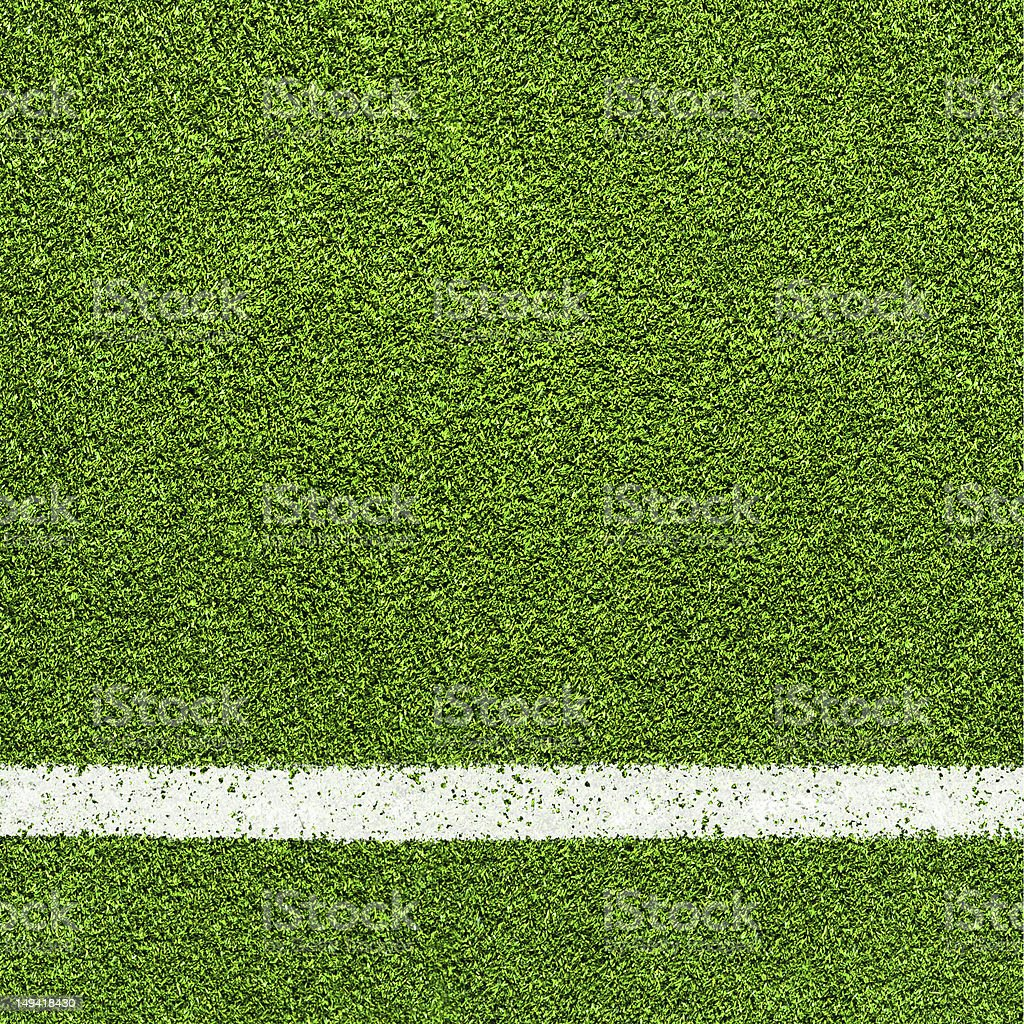 A white stripe of paint marking a boundary  royalty-free stock photo