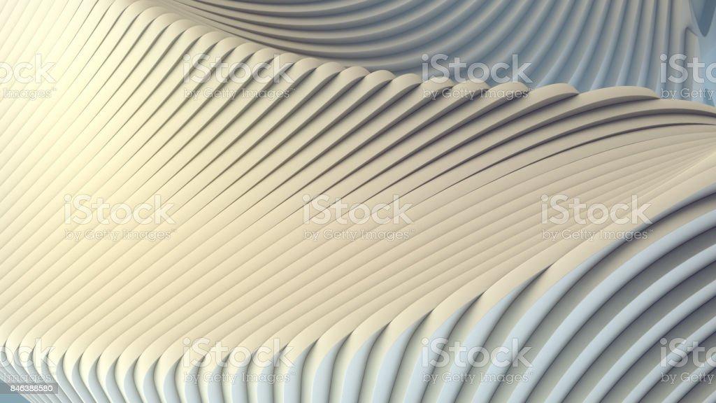 Bande blanche de fond futuriste. illustration de rendu 3D photo libre de droits