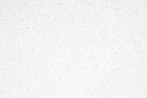 White stucco background stock photo