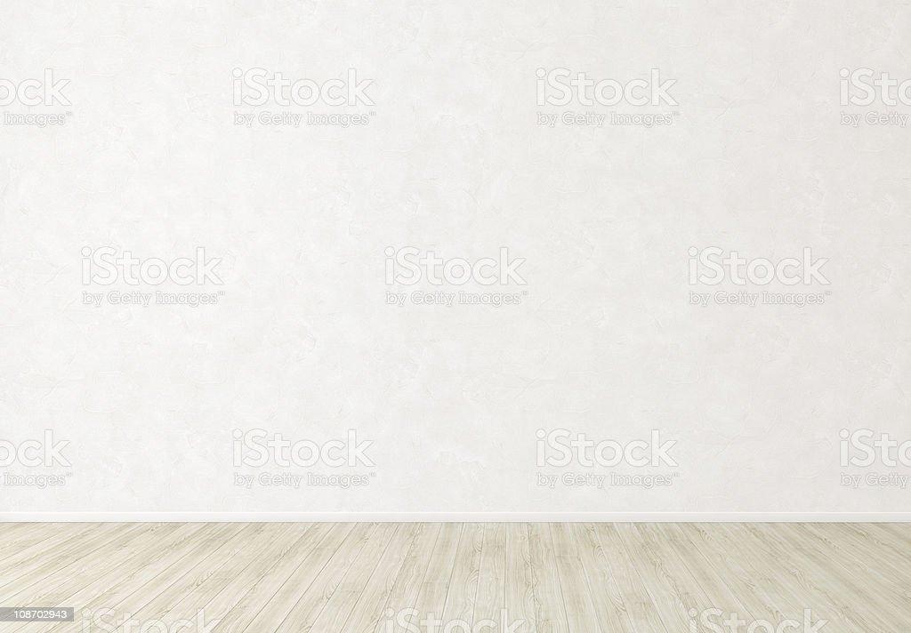 Weißer Stuck Wand innen Hintergrund mit leeren Raum – Foto