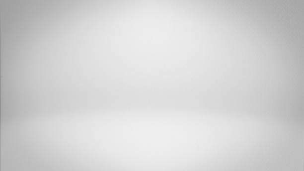 White studio background stock photo