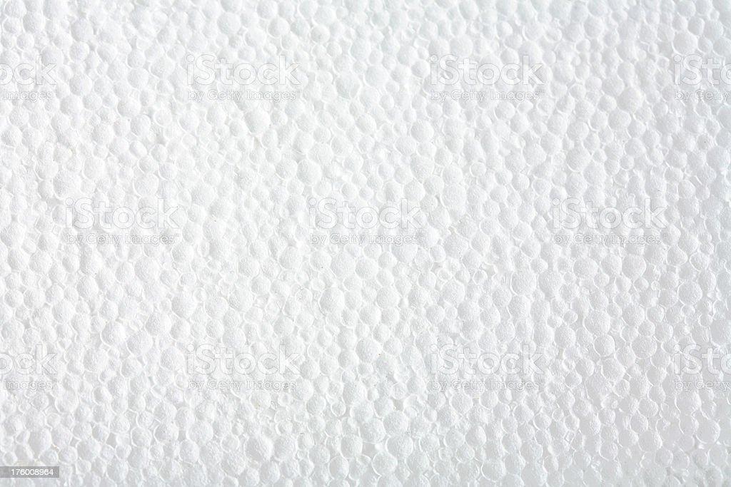 White Styrofoam Background Texture stock photo