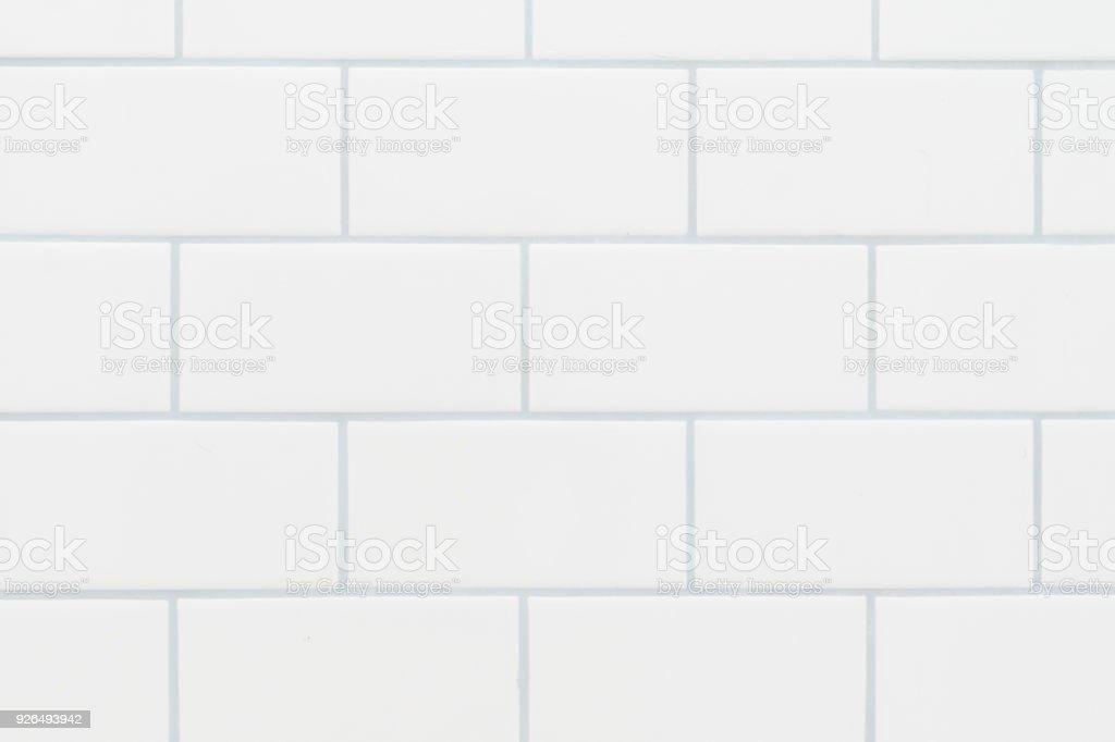 Fundo de azulejo branco metro - foto de acervo