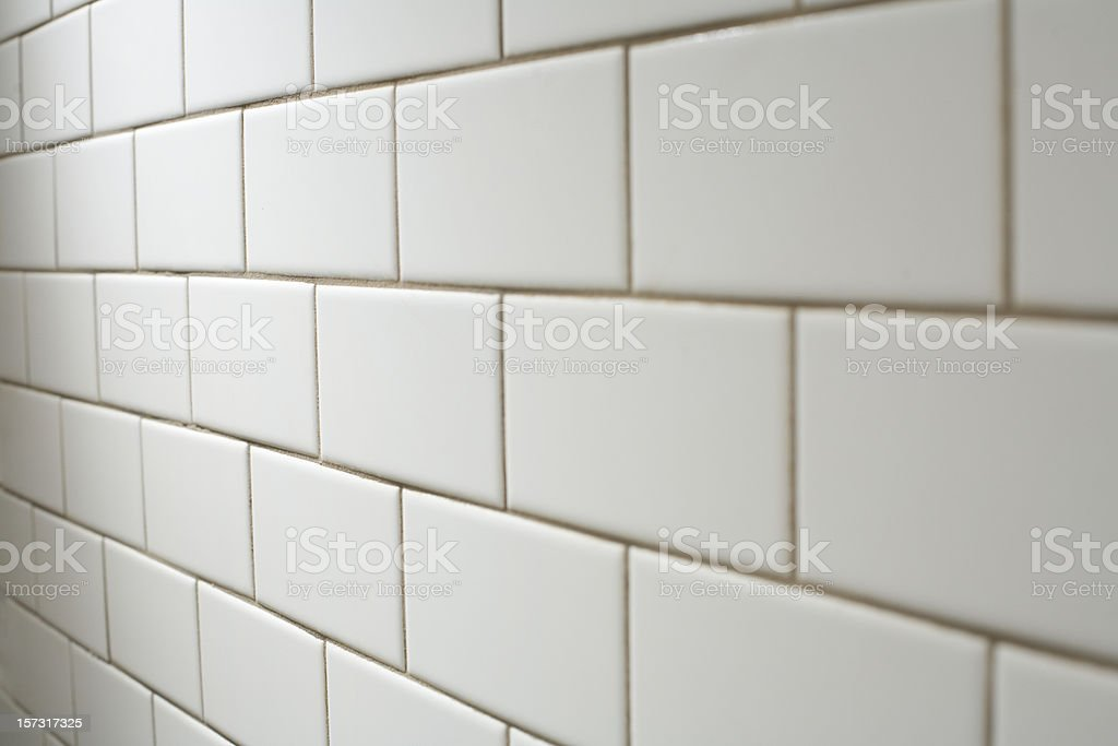 White Subway Tile Stock Photo More Pictures Of Abstract Istock