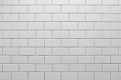 White subway tile without grout