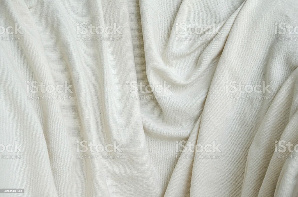 white surface fabric stock photo