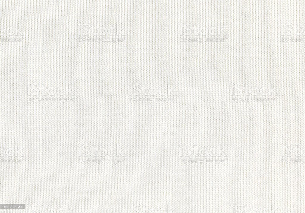 Textura blanco suéter del knit del fondo - foto de stock