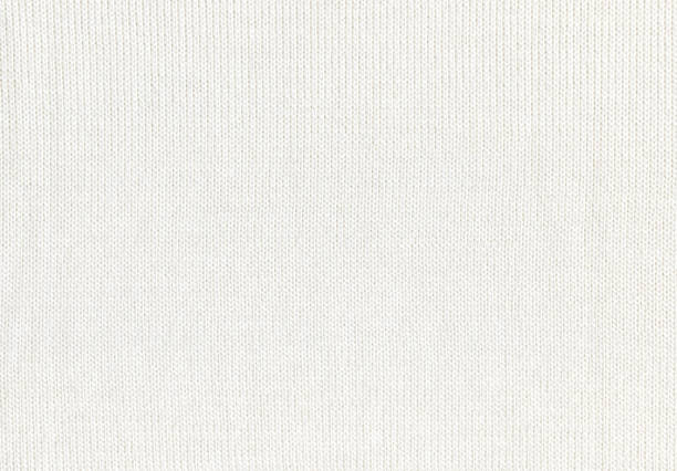 white sweater texture knit background - wool stock photos and pictures