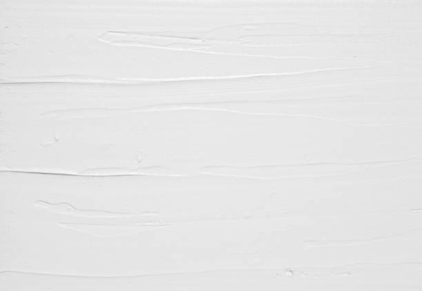 Weiße Sahne verteilt Struktur, Hintergrund – Foto