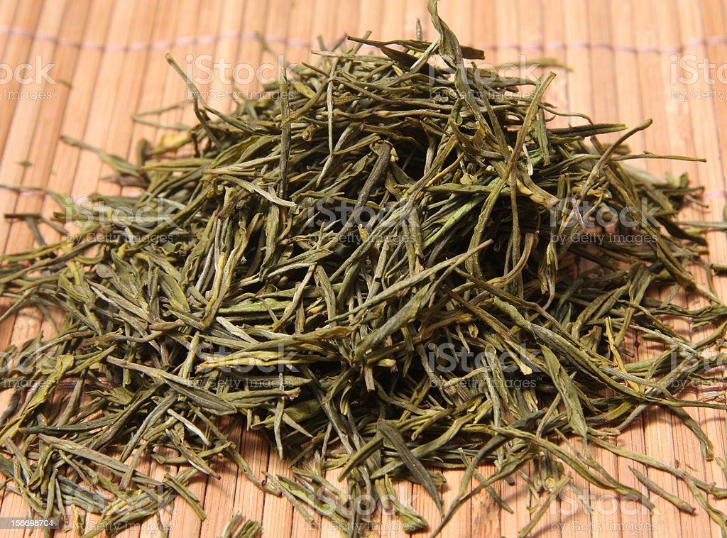 White tea báichá royalty-free stock photo