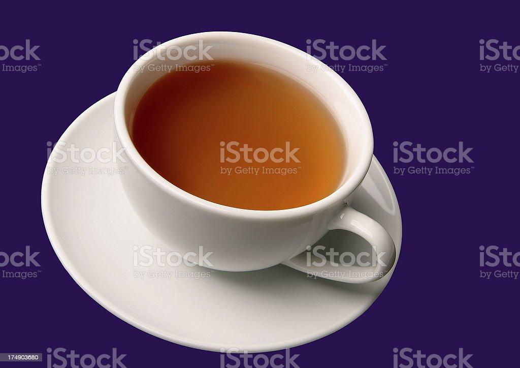 White Tea Cup royalty-free stock photo