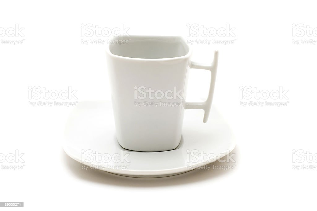 white tea cup royalty-free stock photo