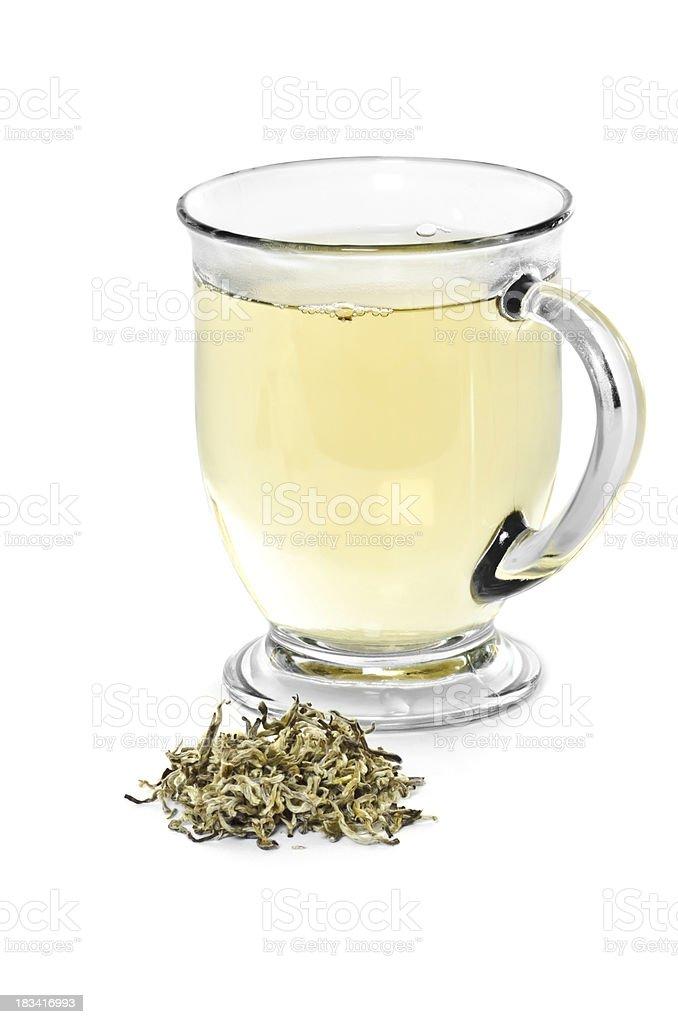 White Tea royalty-free stock photo