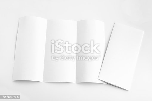 932100364 istock photo white template paper on background 857642820