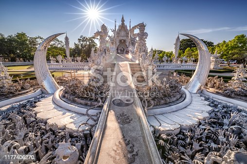 White Temple Wat Rong Khun in Chiang Rai, Thailand