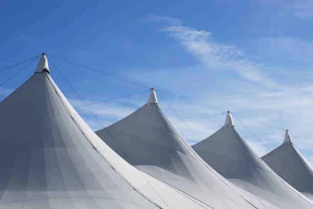 Weißen Zeltdach – Foto