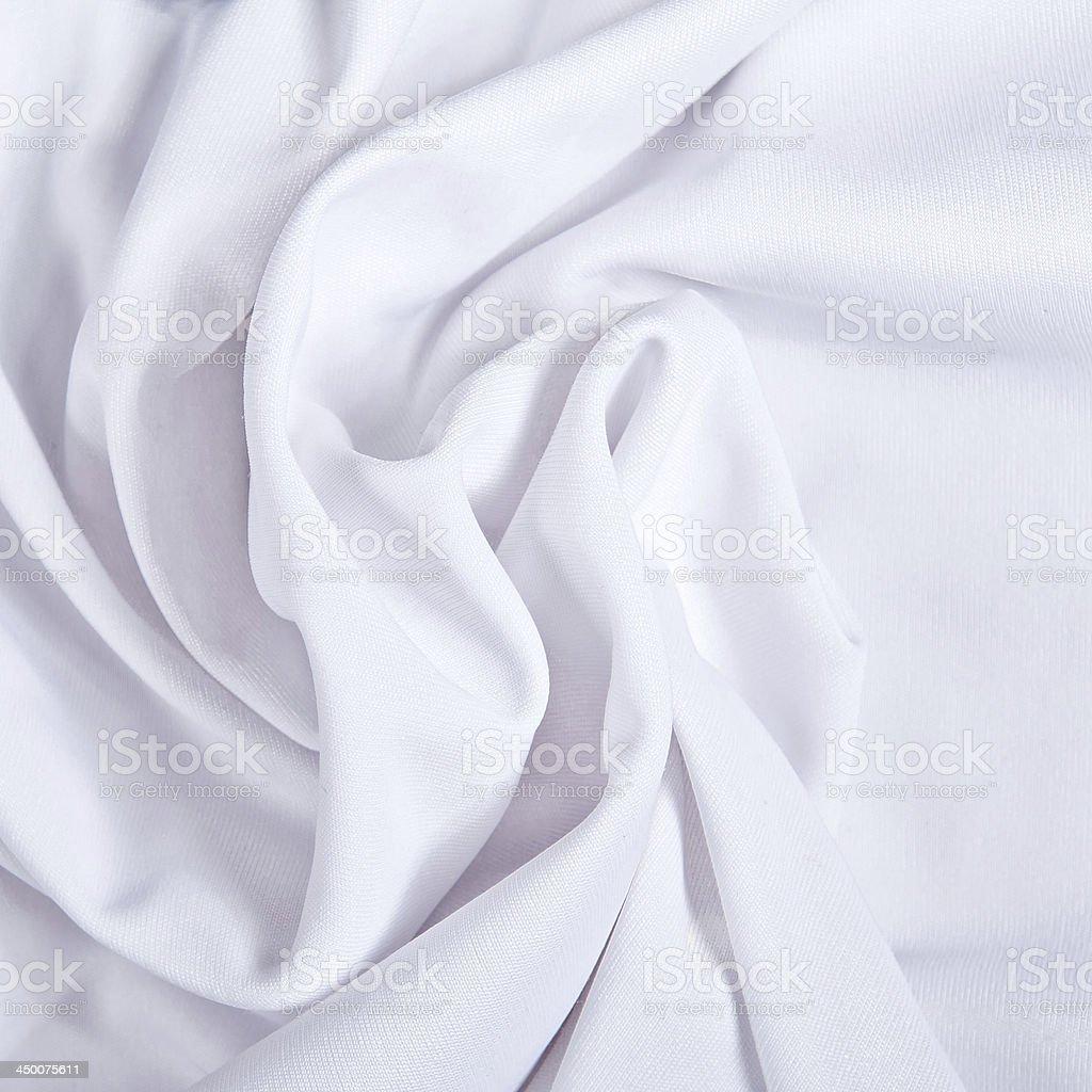 White textile royalty-free stock photo
