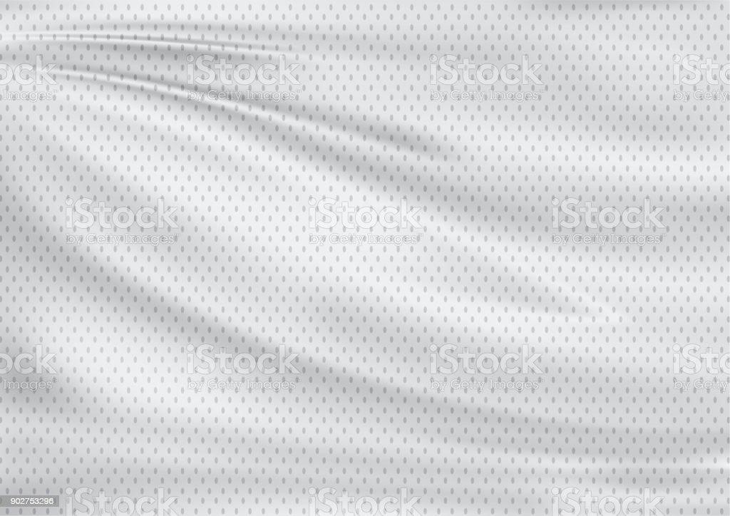 white textile sport background - foto stock