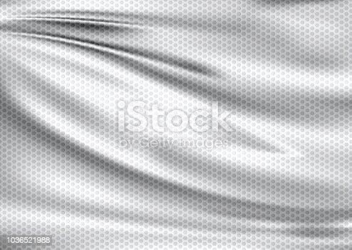 istock White texture textile sport background 1036521988