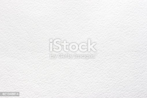 White texture of watercolor paper, gray background